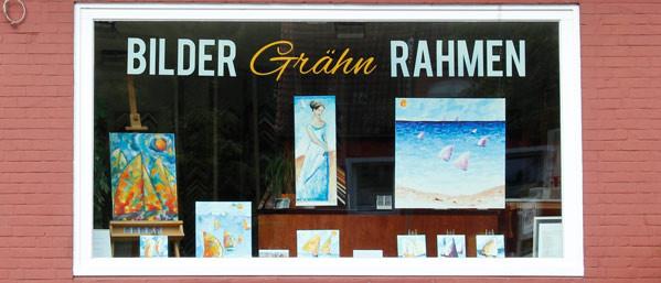 Bilderrahmen und Passepartouts nach Maß!